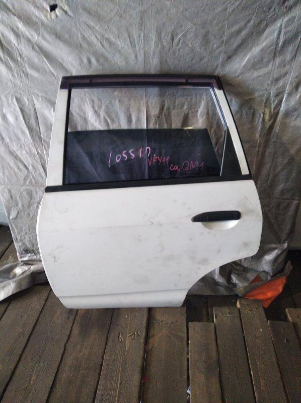 Дверь Nissan Wingroad VFY11 задняя левая (б/у)