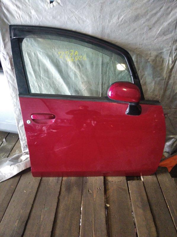 Дверь Mitsubishi Colt Z27A передняя правая (б/у)