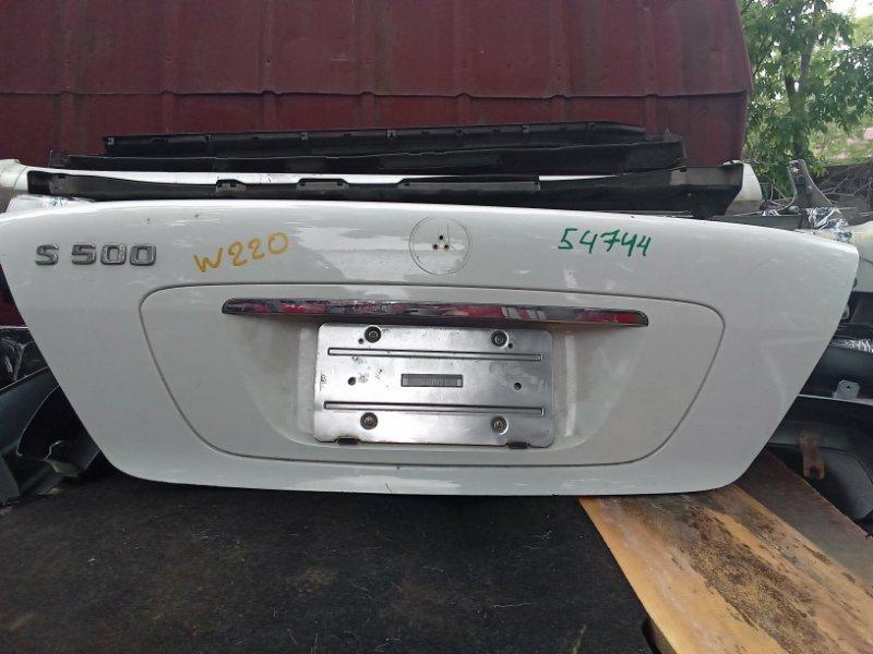 Крышка багажника Mercedes-Benz S-Class W220 (б/у)