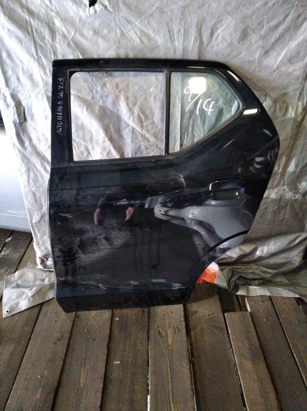 Дверь Suzuki Alto HA36S задняя левая (б/у)