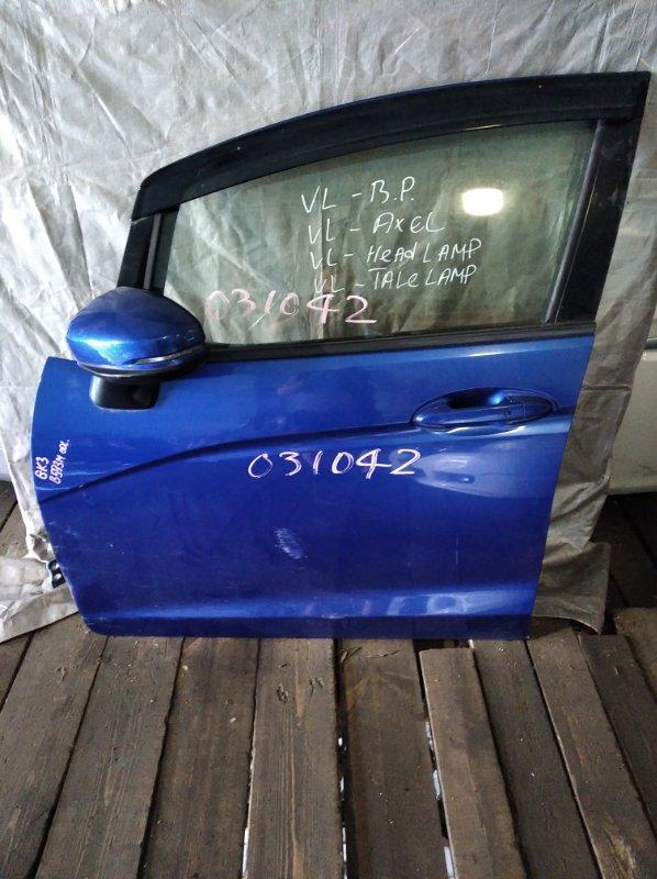 Дверь Honda Fit GK3 передняя левая (б/у)