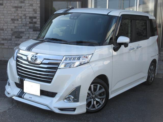 Губа Toyota Roomy M900A передняя (б/у)