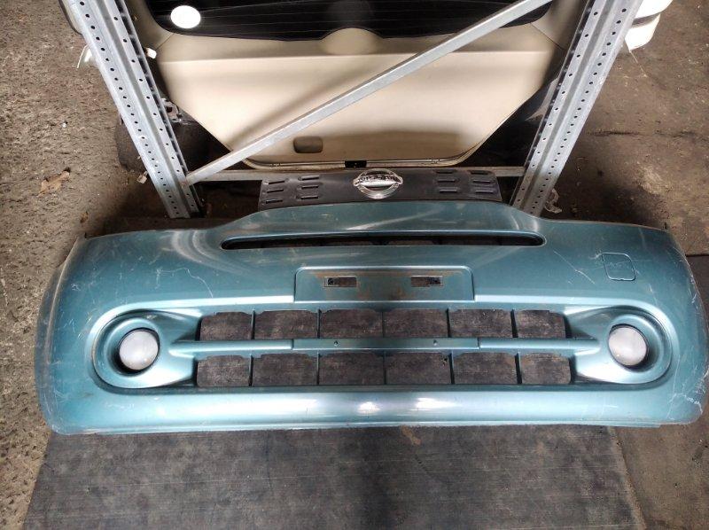 Бампер Nissan Cube Z12 передний (б/у)
