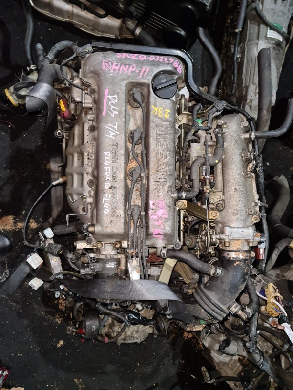 Двигатель Nissan Primera WHNP11 SR20 (б/у)