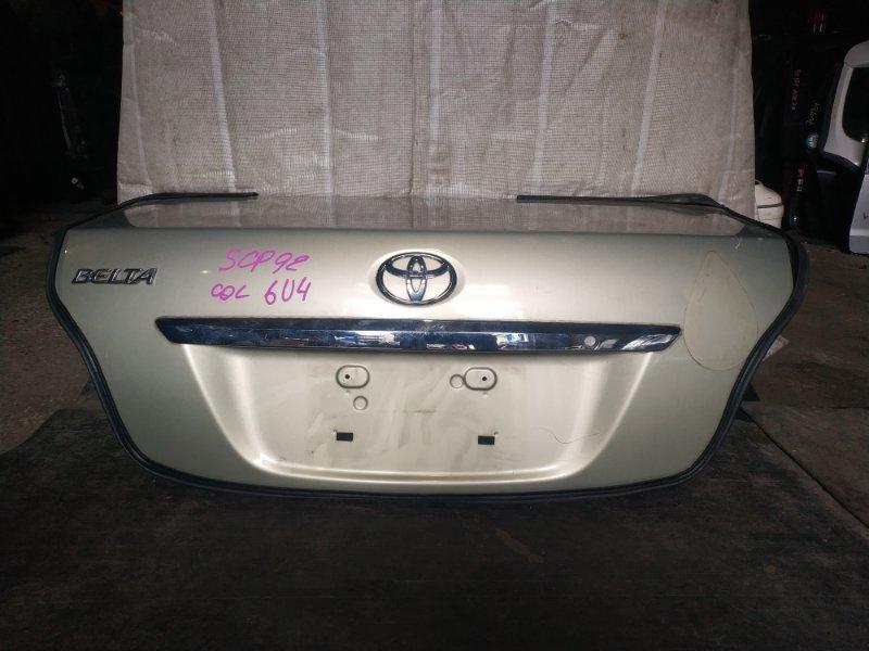 Крышка багажника Toyota Belta SCP92 (б/у)