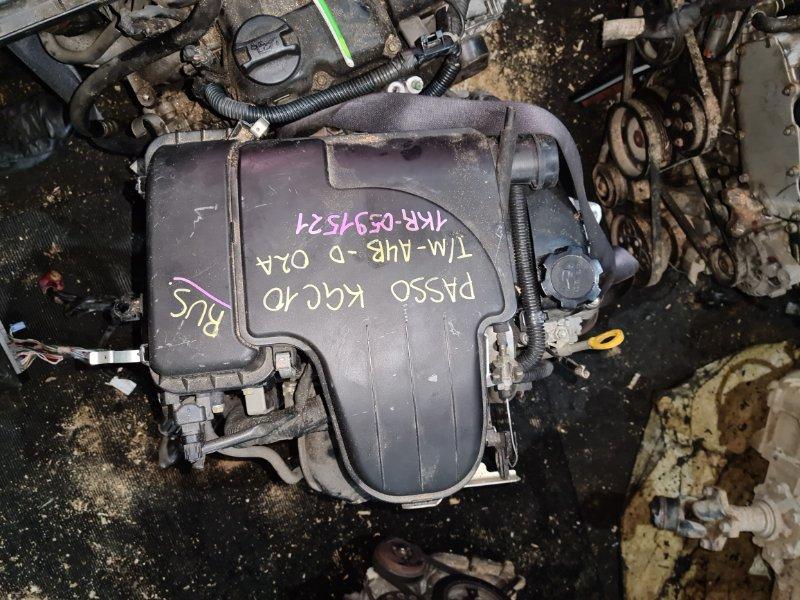 Двигатель Toyota Passo KGC10 1KR (б/у)