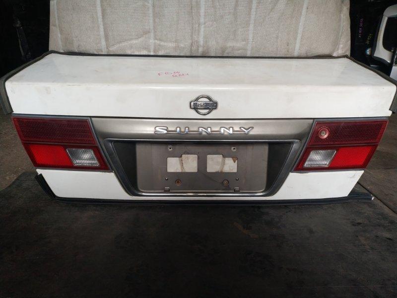 Крышка багажника Nissan Sunny FB14 (б/у)