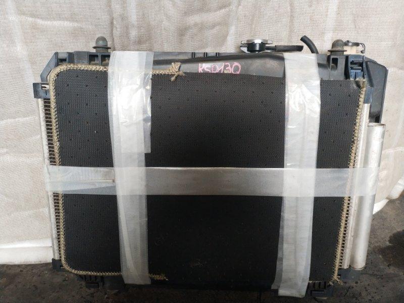 Радиатор охлаждения Toyota Vitz KSP130 1KR (б/у)