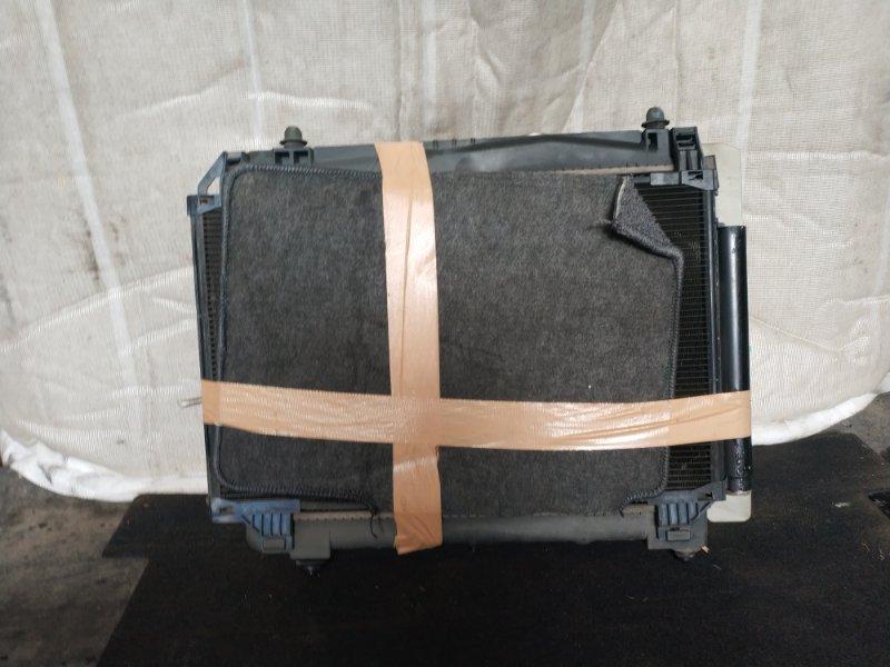Радиатор охлаждения Toyota Vitz NCP90 (б/у)