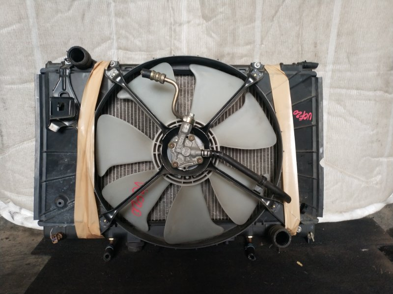 Радиатор охлаждения Toyota Celsior UCF20 1UZ (б/у)