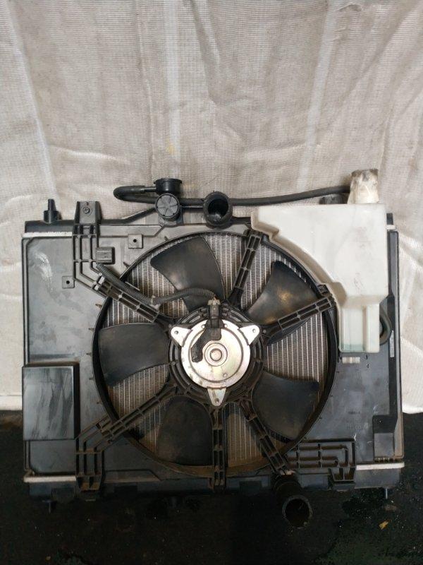 Радиатор охлаждения Nissan Tiida C11 (б/у)