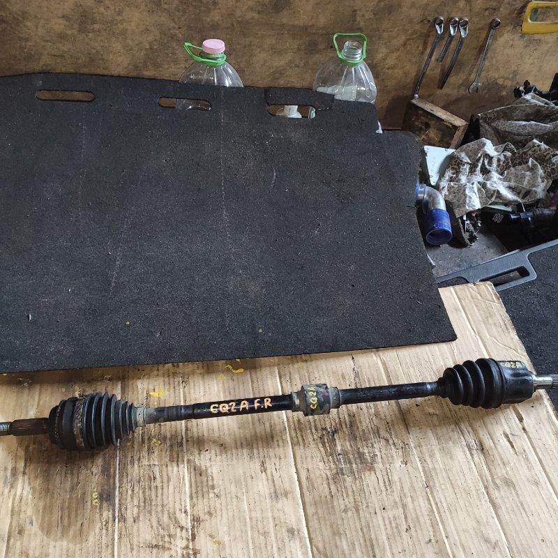 Привод Mitsubishi Dingo CQ2A 4G15 передний правый (б/у)