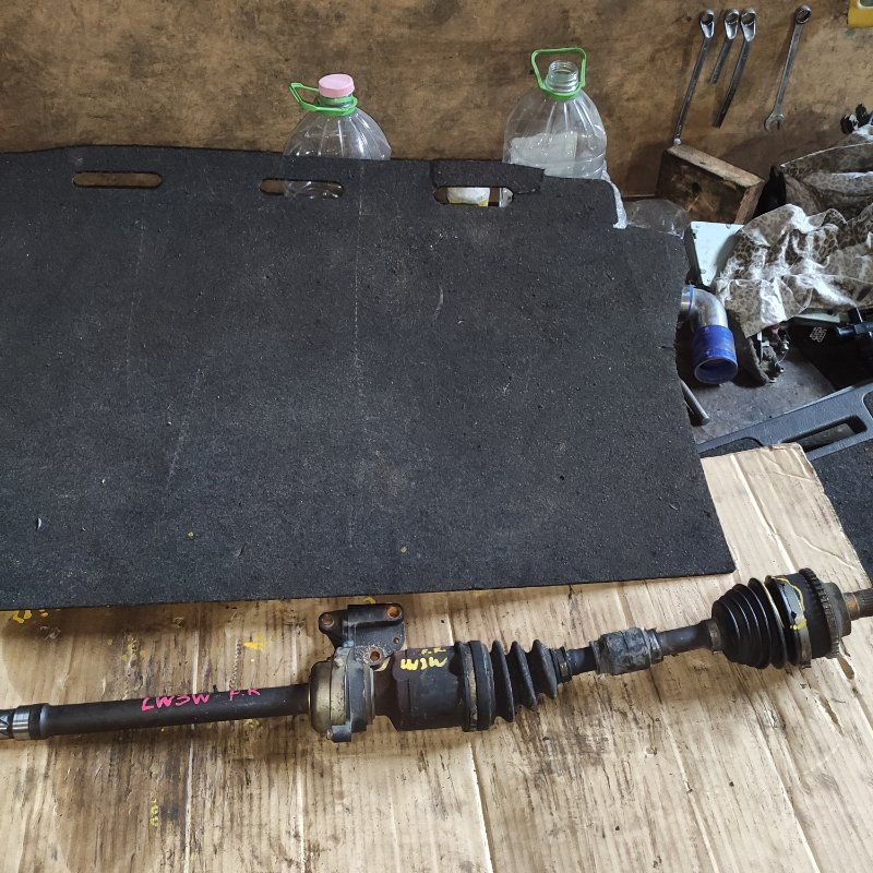 Привод Mazda Mpv LW3W L3 передний правый (б/у)