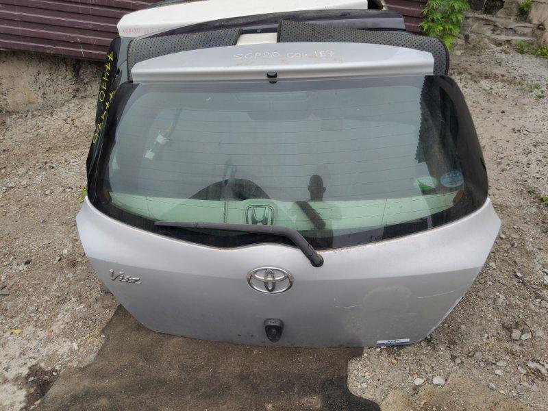 Дверь 5-я Toyota Vitz SCP90 (б/у)