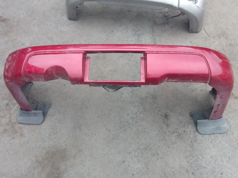 Бампер Subaru Forester SF5 задний (б/у)