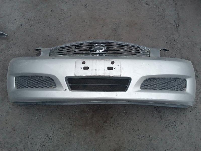 Бампер Nissan Skyline V36 передний (б/у)