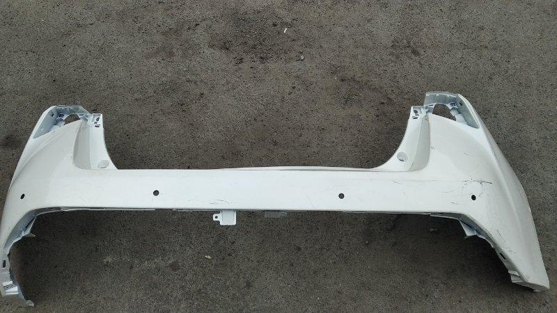 Бампер Toyota Prius ZVW50 задний (б/у)