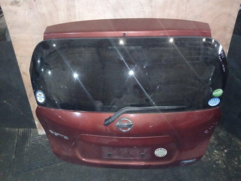Дверь 5-я Nissan Note E12 задняя (б/у)