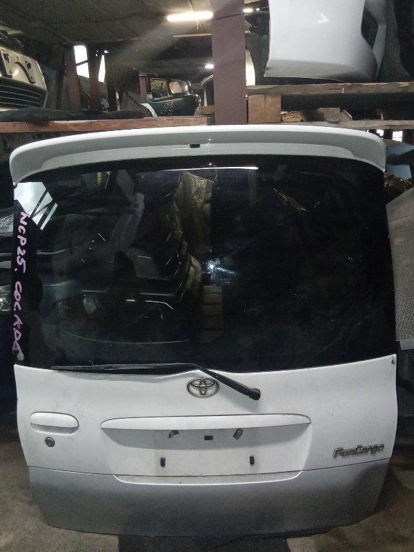 Дверь 5-я Toyota Funcargo NCP25 задняя (б/у)