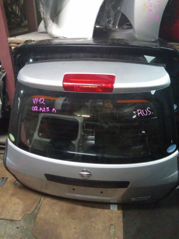 Дверь 5-я Nissan Ad VY12 задняя (б/у)