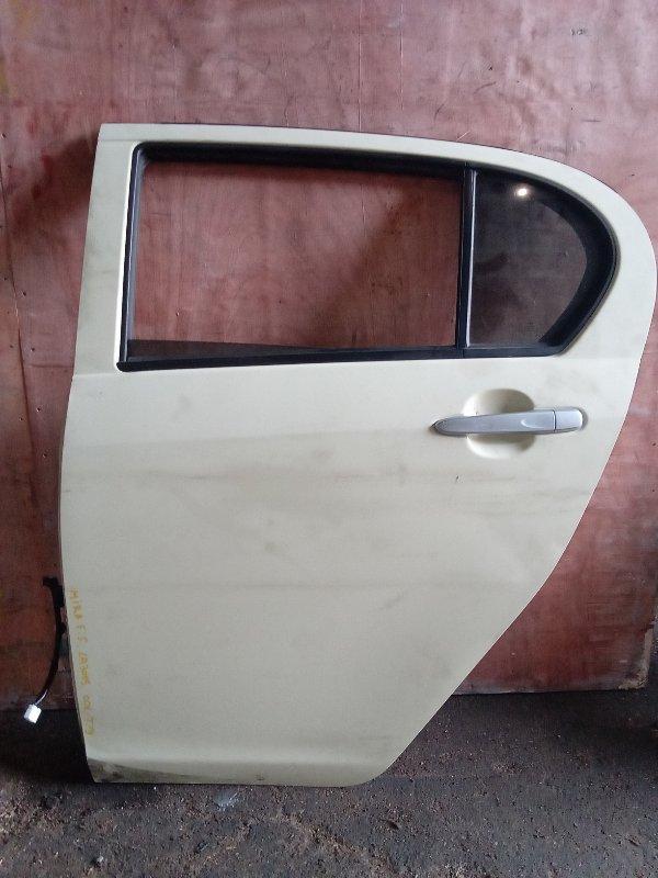 Дверь Daihatsu Mira E:s LA300S задняя левая (б/у)