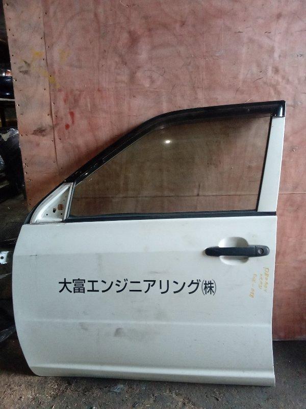 Дверь Toyota Probox NCP51 1NZ передняя левая (б/у)