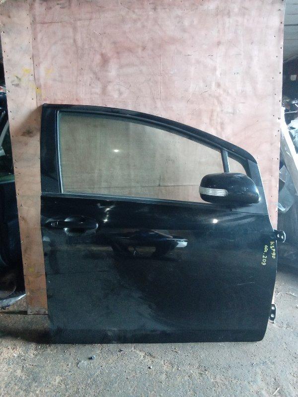 Дверь Toyota Vitz KSP90 1KR передняя правая (б/у)