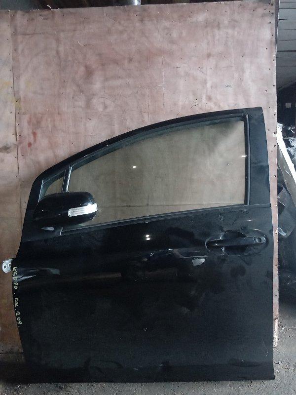 Дверь Toyota Vitz KSP90 1KR передняя левая (б/у)