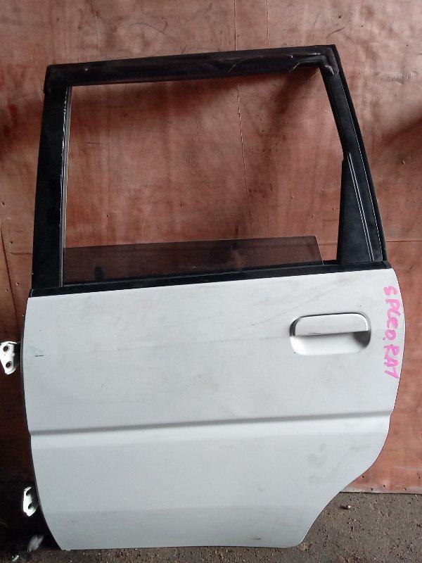 Дверь Subaru Pleo RA1 задняя левая (б/у)