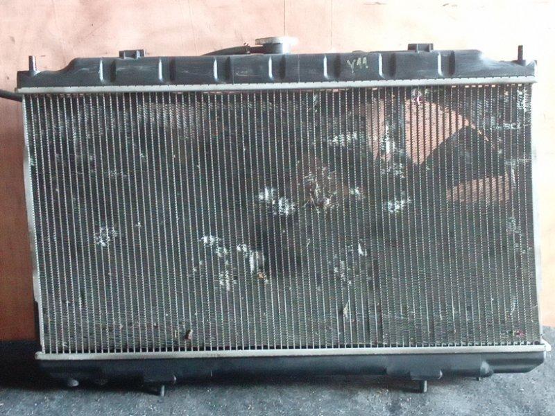 Радиатор охлаждения Nissan Wingroad Y11 QG15DE (б/у)
