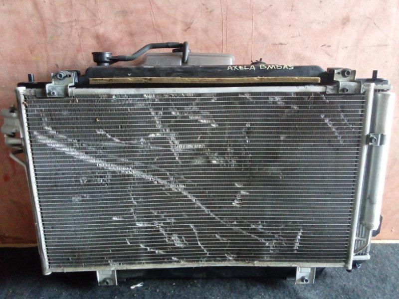 Радиатор охлаждения Mazda Axela BM5AS 5P (б/у)