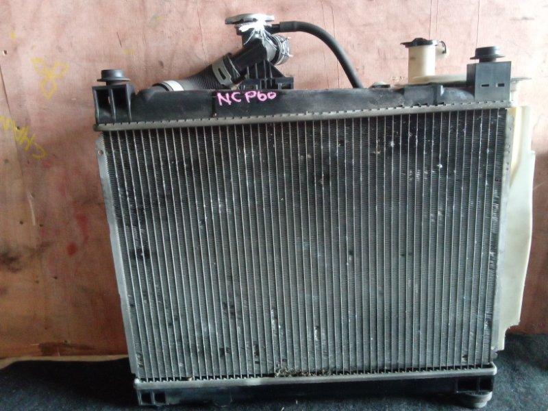 Радиатор охлаждения Toyota Ist NCP60 2NZFE (б/у)