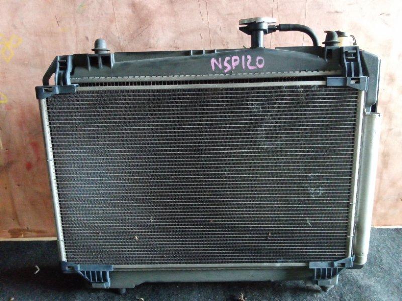 Радиатор охлаждения Toyota Vitz NSP130 1NR (б/у)
