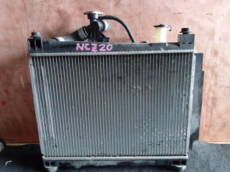 Радиатор охлаждения Toyota Raum NCZ20 1NZFE (б/у)