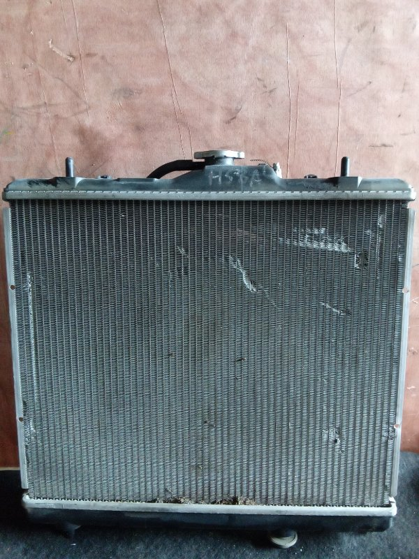 Радиатор охлаждения Mitsubishi Pajero Mini H58A 4A30 (б/у)