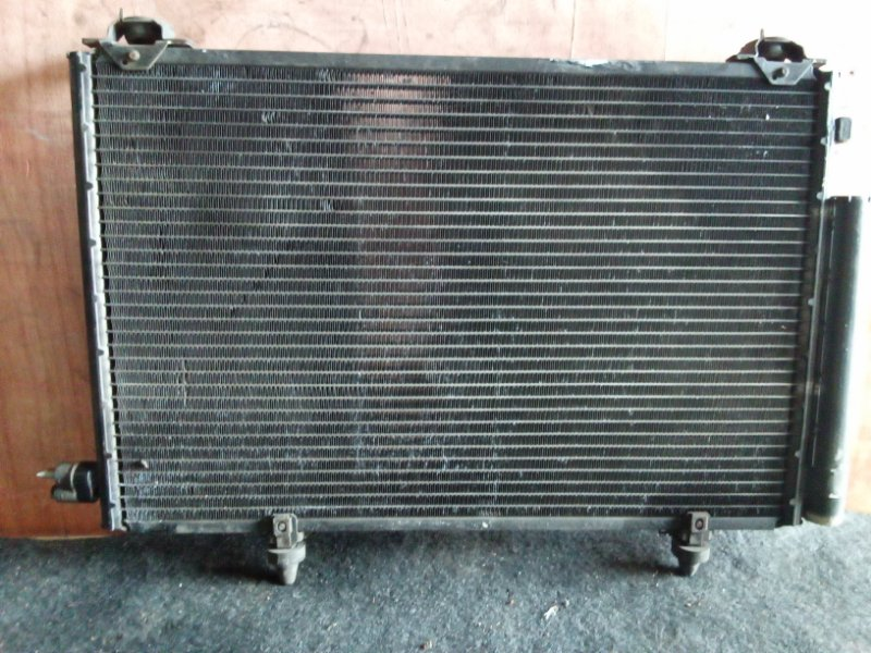 Радиатор кондиционера Toyota Vitz NCP10 1NZ (б/у)