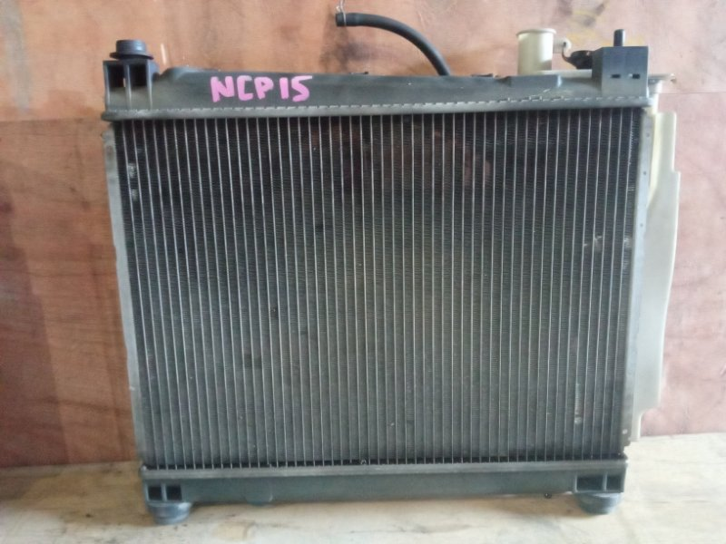 Радиатор охлаждения Toyota Vitz NCP15 2NZFE (б/у)