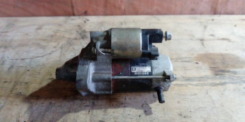 Стартер Toyota Ractis SCP100 2SZFE (б/у)