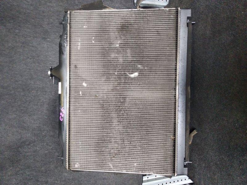Радиатор охлаждения Nissan Serena C25 MR20 (б/у)