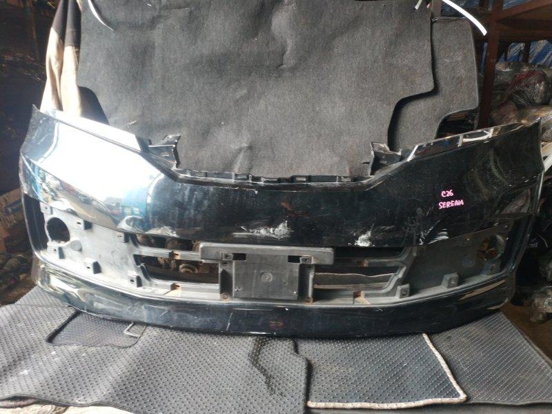 Бампер Nissan Serena C26 передний (б/у)