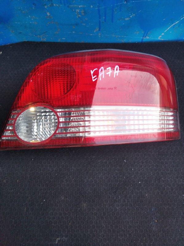 Стоп-сигнал Mitsubishi Galant EA7A передний правый (б/у)