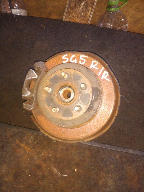 Ступица Subaru Forester SG5 задняя правая (б/у)