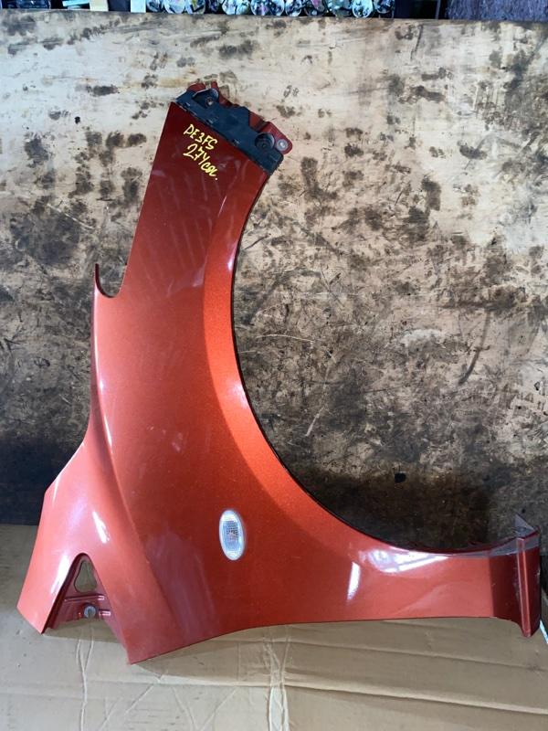 Крыло Mazda Demio DE3FS переднее правое (б/у)