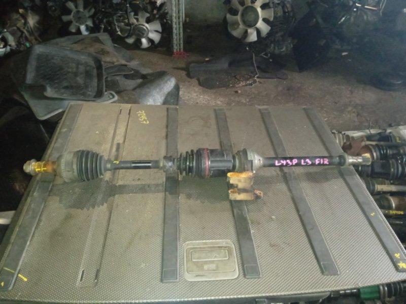 Привод Mazda Mpv LY3W L3 передний правый (б/у)