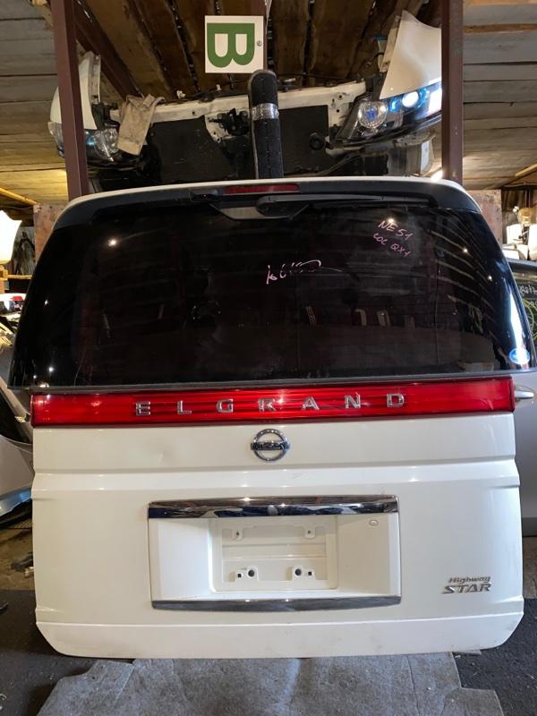 Дверь 5-я Nissan Elgrand NE51 (б/у)