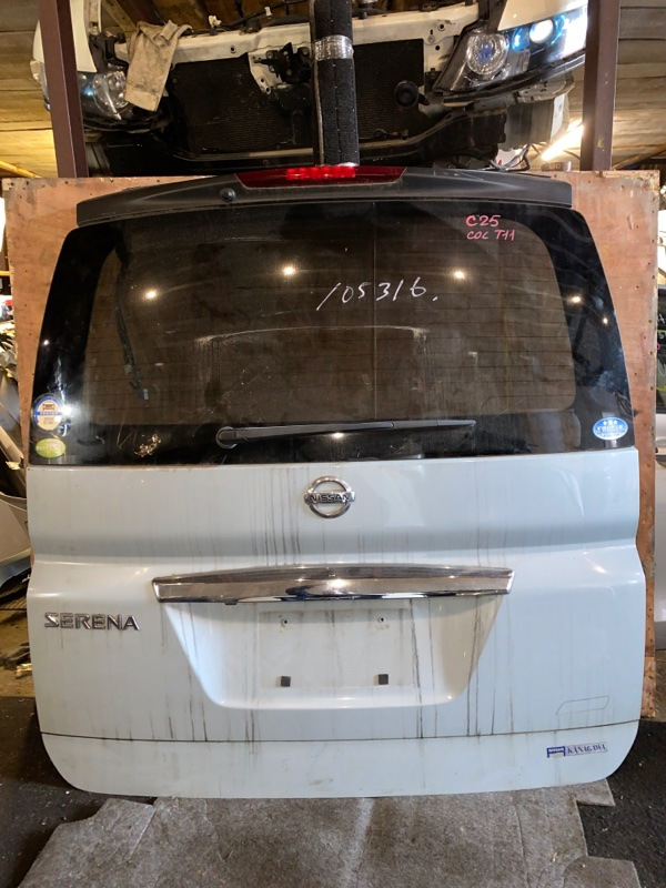 Дверь 5-я Nissan Serena C25 (б/у)