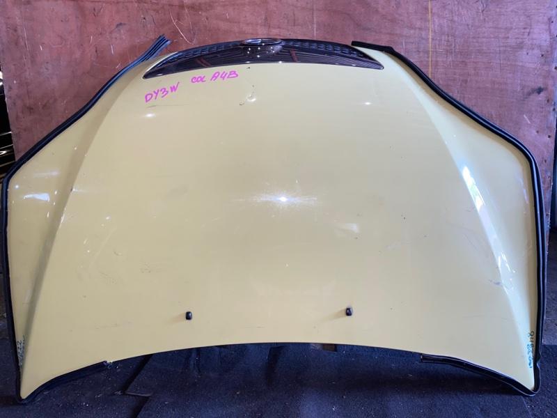 Капот Mazda Demio DY3W передний (б/у)