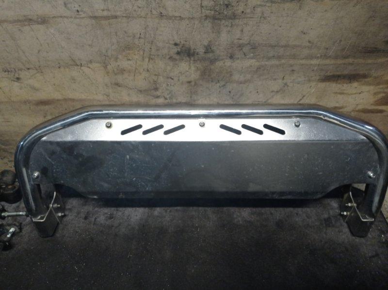 Защита бампера Nissan Terrano LR50 передняя (б/у)