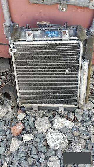 Радиатор кондиционера Toyota Passo NGC30KGC30KGC35 1NRFE1KRFE 2012 (б/у)