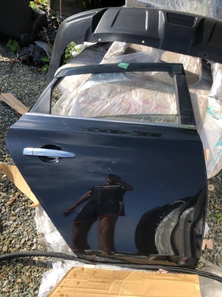 Дверь Nissan Sylphy TB17 MRA8 задняя правая (б/у)